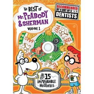 Mr. Peabody and his pet boy Sherman