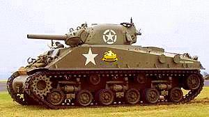 Sherman Tank.