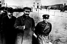 People have always wanted to chaneg reality.  Joseph Stalin is shown here with a comrade, Nikolai Yezhov.