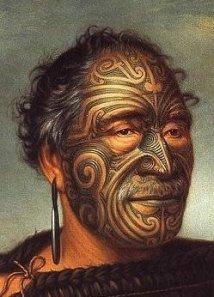 Maori man.