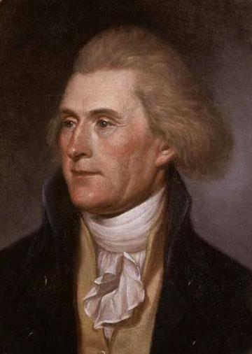 President Thomas Jefferson.