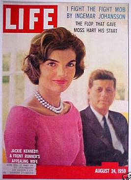 A Front Runner's Attractive Wife.  Life Magazine, August 24, 1959.