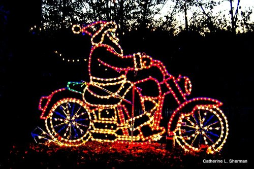 If we didn't have electricity, how could we have fabulous lighting displays like this!