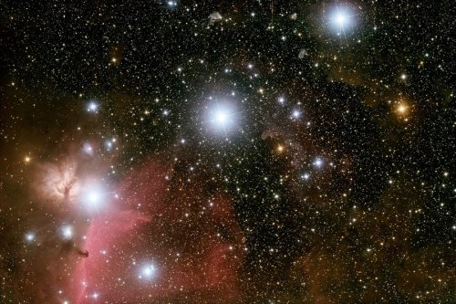 Orion's Belt, a photo by Martin Mutti.