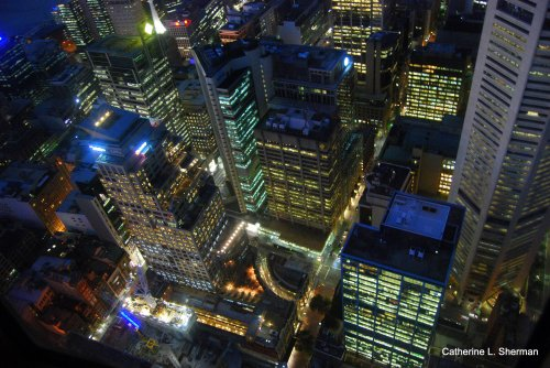 I thought this view from the Sydney Tower was spectacular, but the number of spectacular photographs in cyberspace seems to be infinite!