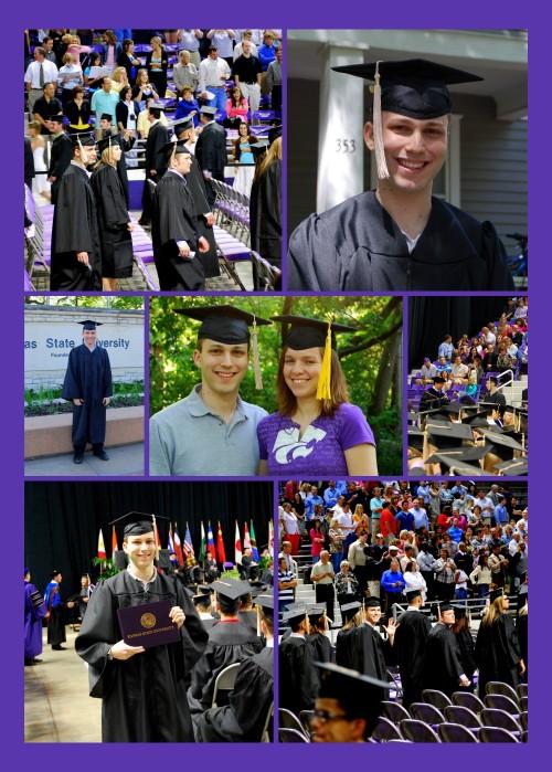 Congratulations, Matt and Bethany!  College Graduates!