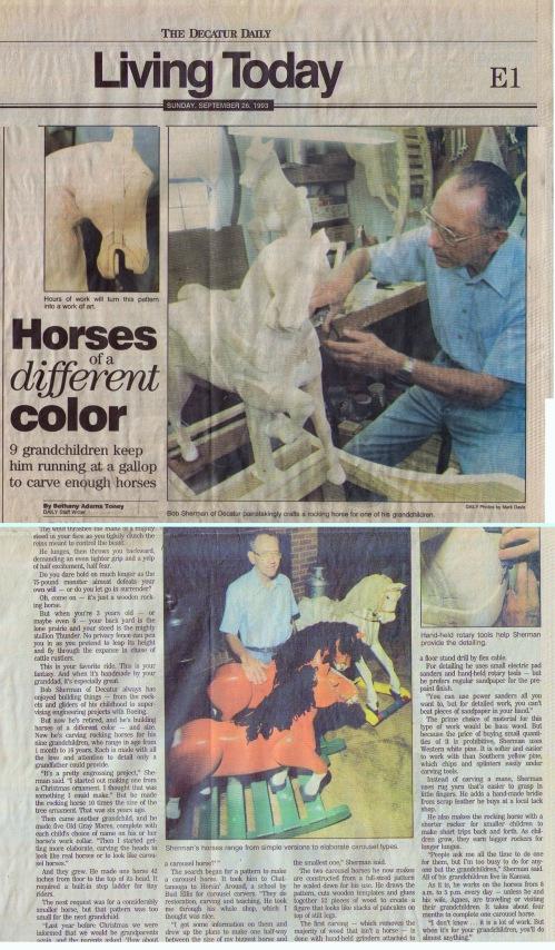 Rocking Horse Story.