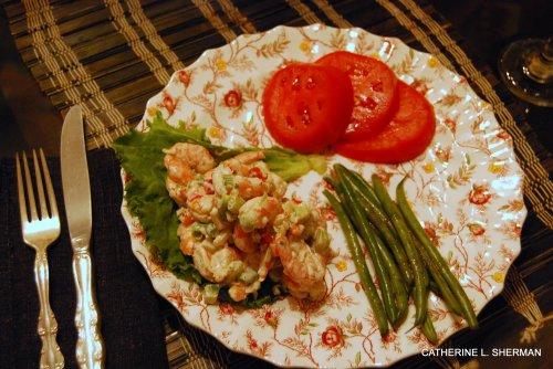 Shrimp Salad in Roeland Park.