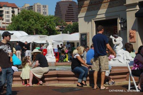 Plaza Art Fair 2009.