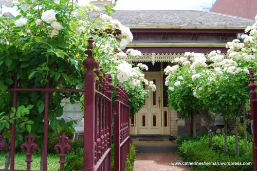 Melbourne is known for its wrought iron trim.