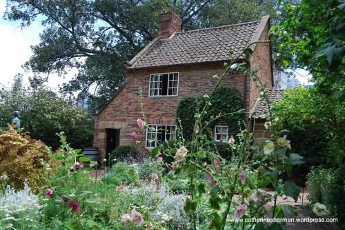Captain Cook's Cottage in a Melbourne, Australia, park.