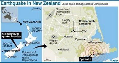Earthquake In Christchurch New Zealand Catherine Sherman