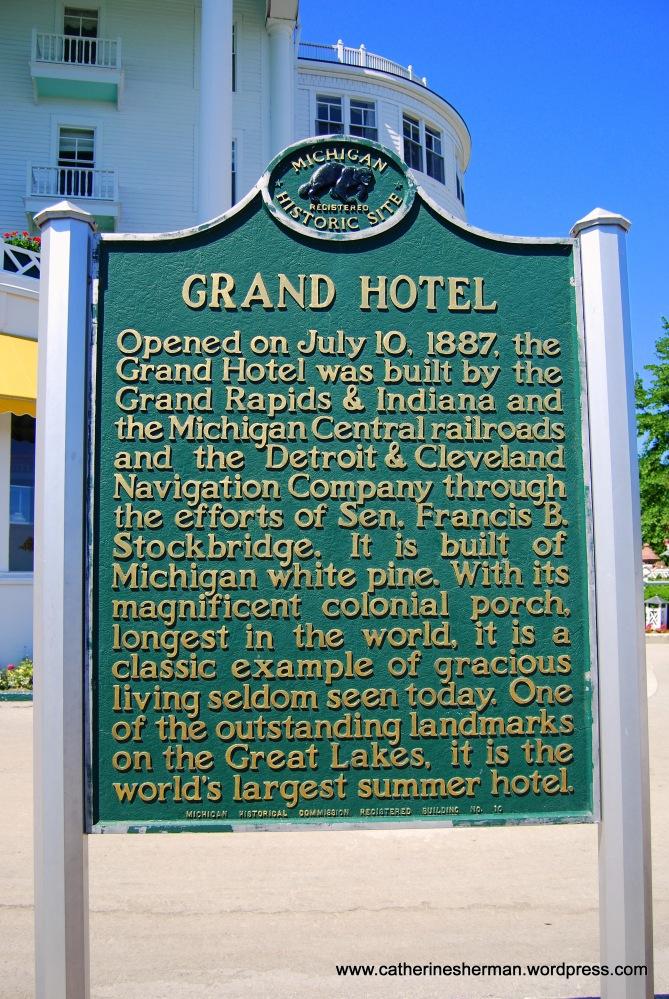 Grand Hotel, Mackinac Island, Michigan (2/6)