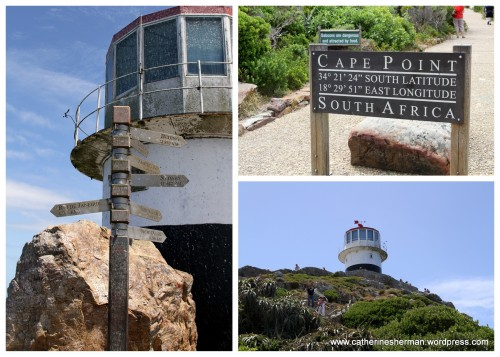Cape Point in South Africa.