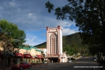 Park Theater, Estes Park, Colorado, photographed in July 2012