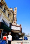 The Rialto Theatre, South Pasadena, California, photographed in September 2009