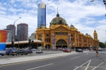 Flinders Street Station, Melbourne, 01/21/09