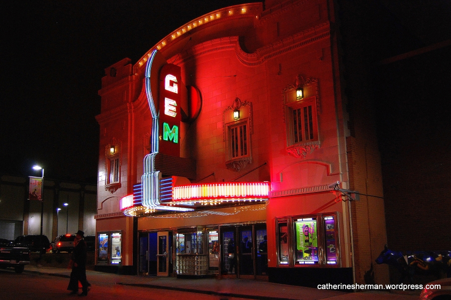 The Gem Theatre, was opened in 1912 as the Star Theatre. It was renamed Gem Theatre in 1913. It got a facade facelift in 1923.