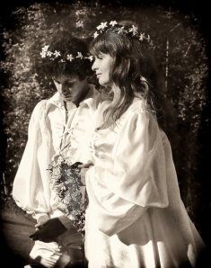 Jackie and Arlo Guthrie's wedding