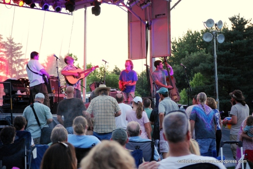 Sam Bush 2012, Olathe Free Concert Series.