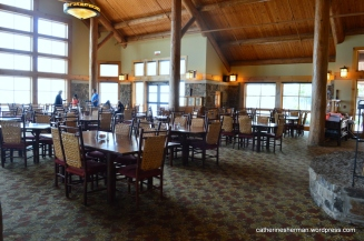 Dining Room in the Lodge at Mount Magazine