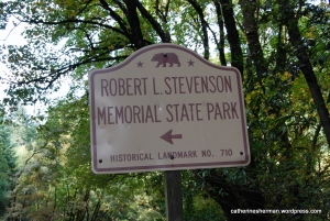 Robert Louis Stevenson State Park is a California state park, located in Sonoma, Lake and Napa counties. The park offers a 5-mile hike to the summit of Mount Saint Helena from which much of the Bay Area can be seen.  I didn't make it to the top. Not in my shoes.