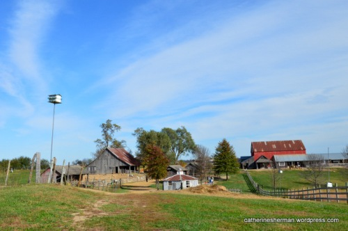 The Red Barn Farm in Weston, Missouri, offers a variety of farm goods for sale as well as activities for children.
