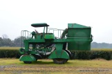 This one-of-a-kind tea leaf harvester will clip the new growth of tea plants several times a year at Charleston Tea Plantation.