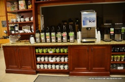 You can drink all of the tea you want -- hot or cold -- in the gift shop of the Charleston Tea Plantation. All of the varieties of tea available are from tea grown on the plantation.