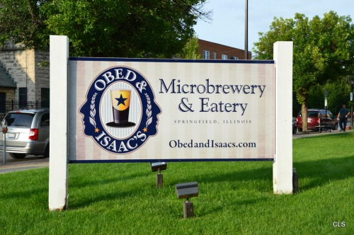 Obed & Isaac's Microbrewery & Eatery, Springfield, Illinois.