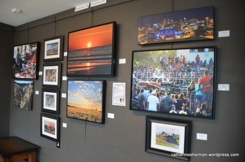 Part of my featured artist exhibit at Images Art Gallery in Overland Park, Kansas, in June 2016.