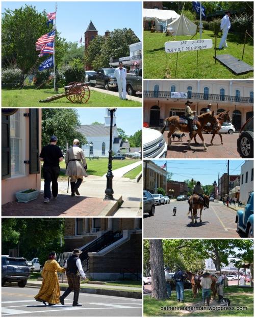 Re-enactors in Jefferson, Texas