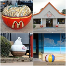 """Customized Concrete Tomatoes in Jacksonville, Texas, the """"Tomato Capital of the World."""""""