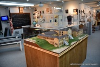 A model of the New London, Texas, school before the explosion.